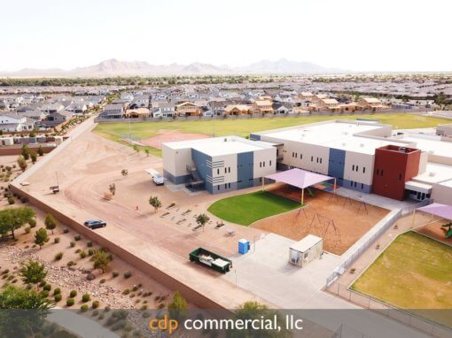 sunset-community-center-tucson-faith-mather-sossoman-elementary-school-drone-progress-trip-7